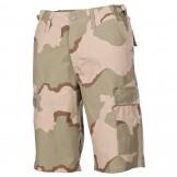 Мужские шорты-бермуды армии США, цвет камуфляж пустыня (3 цвета)