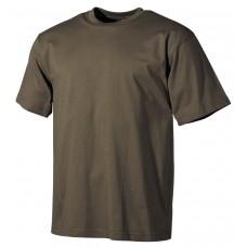 Футболка армии США, в классическом стиле , зеленая, 160г/м^