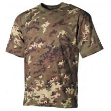 Футболка армии США, в классическом стиле , камуфляж, 160г/м^