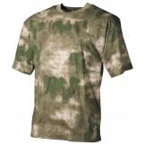 Американская футболка камуфляжного цвета