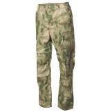 Американские полевые брюки BDU, зеленый камуфляж HDT