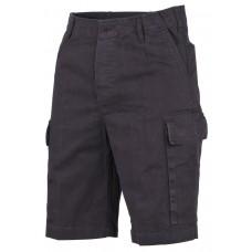 Мужские шорты-бермуды, черные