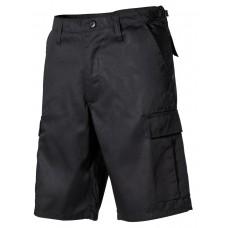 Мужские шорты-бермуды с карманами  армии США, черные