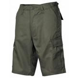 Мужские шорты-бермуды с карманами  армии США, зеленые