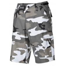 Мужские шорты-бермуды с карманами  армии США, цвет городской камуфляж