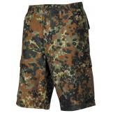 Мужские шорты-бермуды с карманами  армии США, Flecktarn