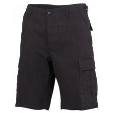 Мужские шорты-бермуды армии США, черные