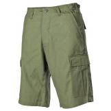 Мужские шорты-бермуды армии США, зеленые
