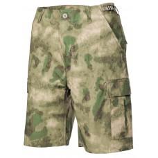 BDU шорты-бермуды армии США, HDT зеленый камуфляж