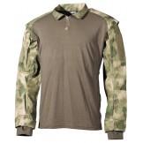 Тактическая рубашка США, зеленый камуфляж HDT