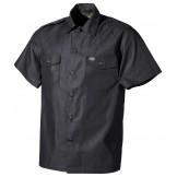 Американская армейская рубашка с короткими рукавами, черная