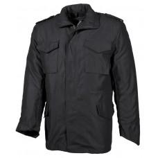 Американская полевая куртка M65, с молнией, черная