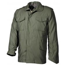 Американская полевая куртка M65, с молнией, зеленая