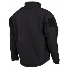 Куртка непромокаемая ветрозащитная черного цвета