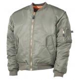 Американская куртка пилота, зеленая