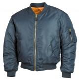 Американская куртка пилота, синяя