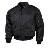 Американская пилотная куртка, черная