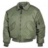 Американская пилотная куртка, зеленая