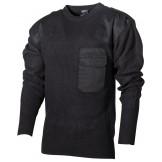 Пуловер Бундесвера, 100% акрил, черный