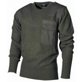 Пуловер Бундесвера, 100% акрил, зеленый