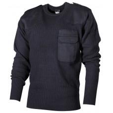 Пуловер Бундесвера, 100% акрил, синий