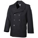 Американское армейское пальто с пластиковыми пуговицами, черное
