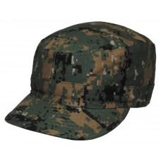 Американская армейская кепка, лесной камуфляж
