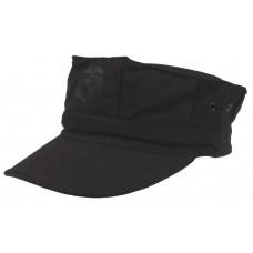 Американская военно-морская кепка, черная