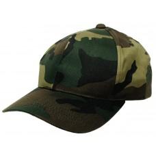 Американская армейская кепка, размер может регулироваться, лесной камуфляж