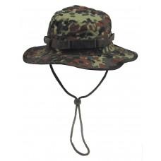 Американская шляпа с ремешком для подбородка, камуфляж