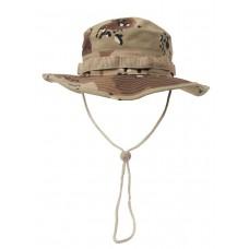 Американская шляпа с ремешком для подбородка, камуфляж пустыня (6 цветов)