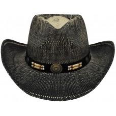 Ковбойская шляпа черно-коричневого цвета, Техас