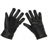 Кожаные перчатки Бундесвер, черные
