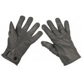 Кожаные перчатки Бундесвер, серые