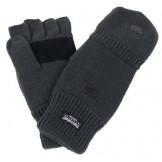 Вязаные перчатки / рукавицы, серого цвета