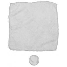 Волшебное полотенце, белое, микроволокно, 5 шт/полиэтиленовый пакет