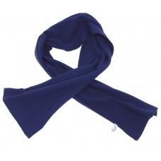 Шерстяной шарф, синий, 160x25 см
