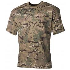 Детская футболка, цвет - камуфляж