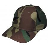 Детская кепка, размер регулируемый, лесной камуфляж