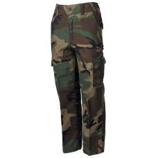 Американские брюки для детей, лесной камуфляж