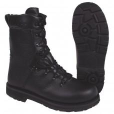 Немецкие военные ботинки, черные, кожаная подкладка, Mod 2000
