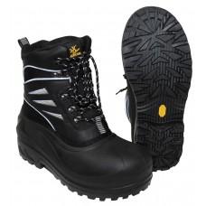 Термо ботинки, черные