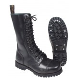 Ботинки черного цвета, стальной подносок
