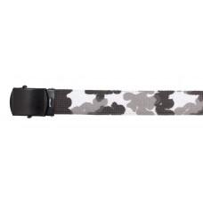 Пояс, 30 мм , городской камуфляж, черная металлическая пряжка