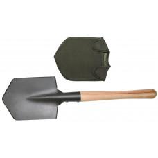 Лопата с чехлом, деревянная ручка
