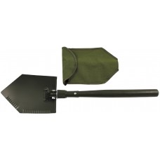Складная лопата, деревянная ручка, крышка