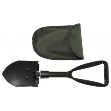 Складная мини-лопата Бундесвер, с чехлом