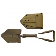 Складная лопата Бундесвер с пластиковой крышкой
