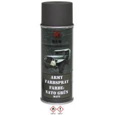 """Армейский баллончик с краской, цвет """"NATO green"""", матовый, 400 мл"""