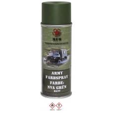 """Армейский баллончик с краской, цвет """"NVA green"""", матовый, 400 мл"""